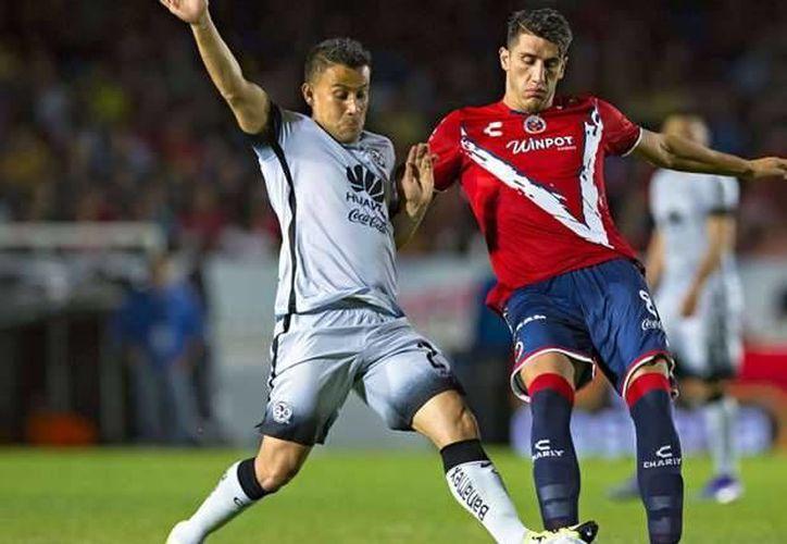 América no supo cómo sacar provecho a una expulsión del Veracruz y solo sacó un empate 1-1 como visitante. (goal.com)
