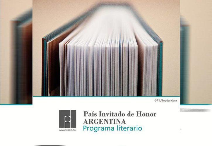 Argentina promete llevar a la FIL Guadalajara 60 autores de diversas corrientes y 30 mil libros para su venta. (Facebook/Feria Internacional del Libro de Guadalajara)