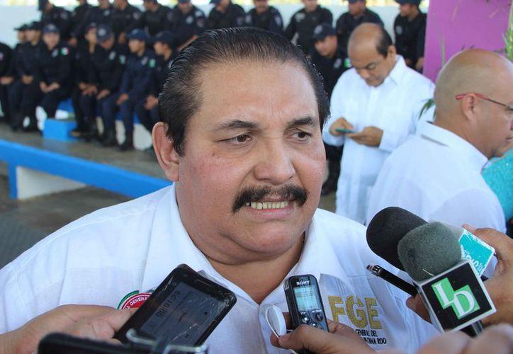 El fiscal general de Quintana Roo, Miguel Ángel Pech Cen, podría tener fuero constitucional. (Joel Zamora/SIPSE)