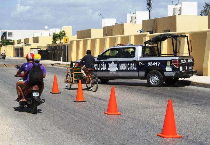 Se supervisará que estos vehículos no sean ocupados para transportar materiales peligrosos. (Octavio Martínez/ SIPSE)