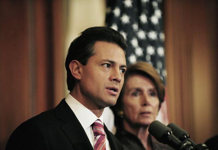 Peña Nieto aseguró que su gobierno incrementará la inversión en ciencia, tecnología e innovación. (Notimex)