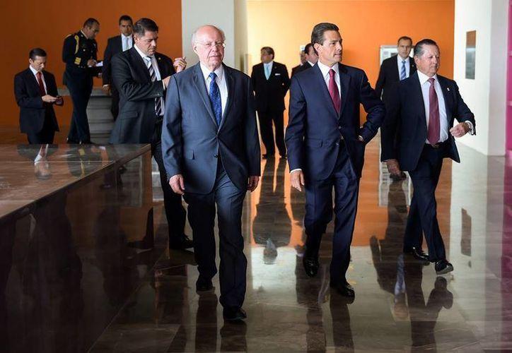 Peña Nieto encabezó este martes la 35 Asamblea General Ordinaria de la Fundación Mexicana para la Salud (Funsalud). (Presidencia)