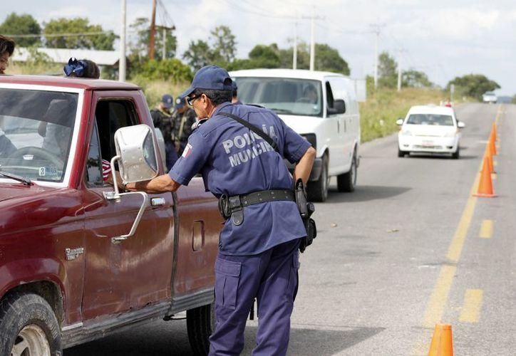 Las carreteras federales también son supervisadas por la Policía Federal (PF). (Archivo/SIPSE)