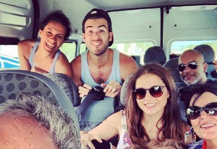 Alexis Ayala comparte cada fotografía que toma durante el viaje a Quintana Roo. (Instagram/alexisayala)