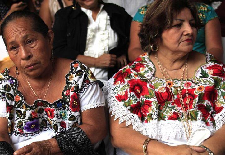 Velan por la difusión de la cultura indígena. (Harold Alcocer/SIPSE)