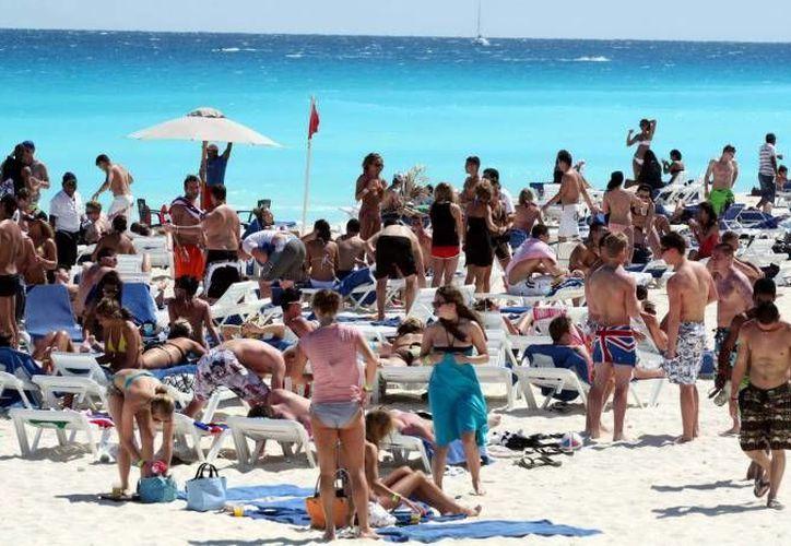 El turismo sudamericano hace un gasto fuerte pues le gusta disfrutar de su estancia. (Redacción/SIPSE)