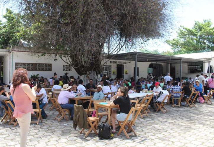 Los peregrinos franciscanos realizaron diversas actividades en Chetumal. (Joel Zamora/SIPSE)