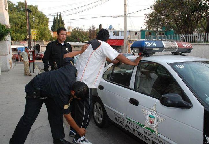 Ecatepec de Morelos, es uno de los municipios inseguros del país. (MVS Noticias)