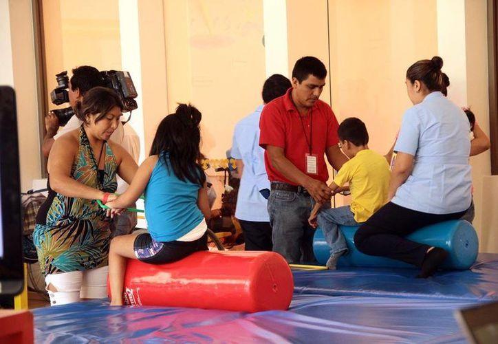 En sus casi siete años de labor en Yucatán, en el CRIT se han rehabilitado tres mil 400 niños. (Archivo/Milenio Novedades)
