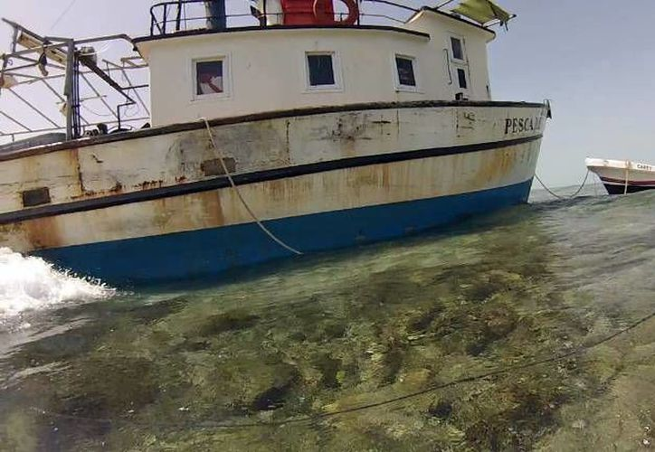 Los encallamientos han duplicado la zona de afectación en el arrecife Alacranes. Imagen de archivo. (Milenio Novedades)