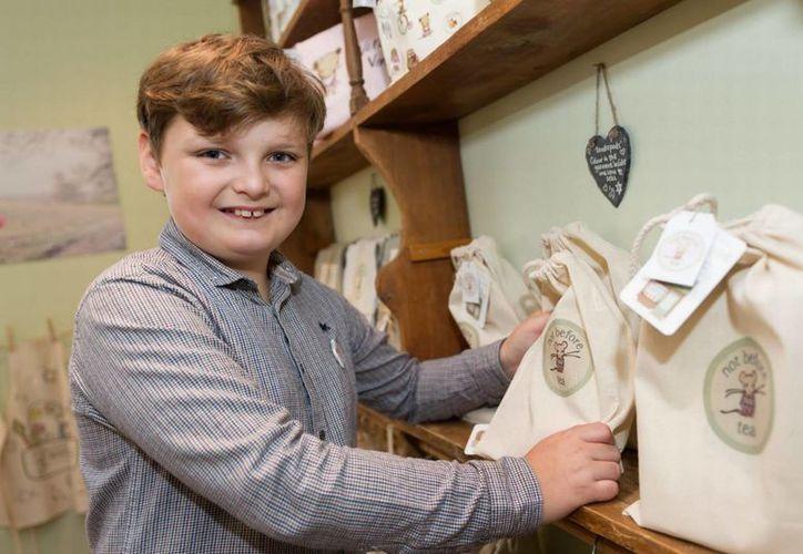 Henry Patterson fue conocido en 2011 como 'El empresario más joven del mundo'. (mirror.co.uk)