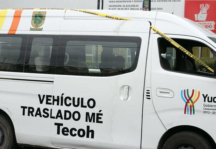 Un anciano falleció en una ambulancia de traslado cuando regresaba a su natal Tecoh. (Jorge Pallota)