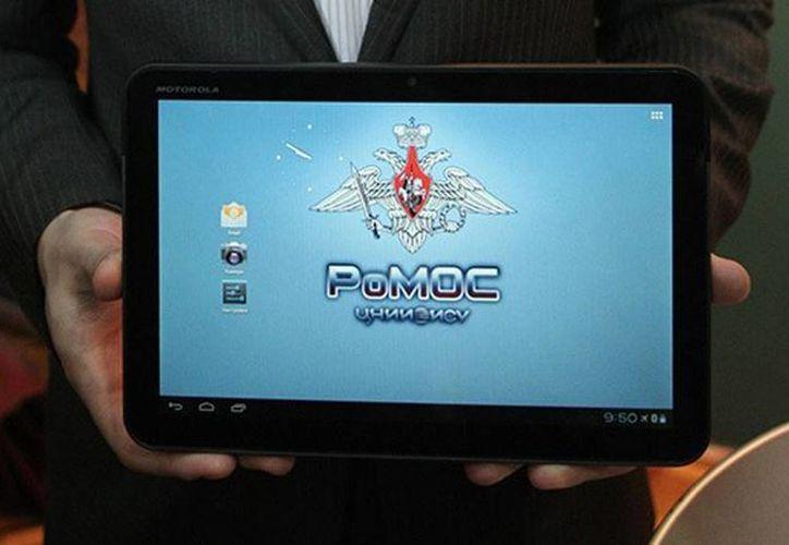 RoMOS permite el acceso seguro a Internet y cuenta con una función de protección contra los virus y programas espía. (© RIA Novosti Serguéi Mamontov/RT)