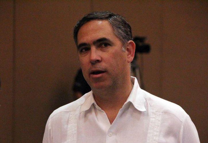 Nicolás Madáhuar Boehm, presidente de la Coparmex, asegura que las reformas estructurales no ayudarán a crecer a los negocios. (José Acosta/SIPSE)