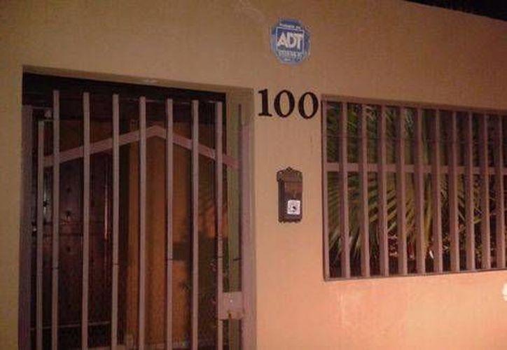 Domicilio donde fue detenido Sánchez Arellano. (Marcos Morales/Milenio)