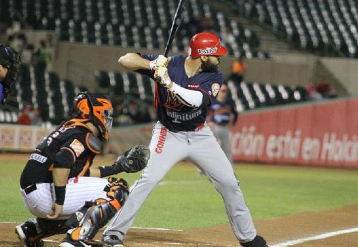 Mayos de Navojoa ganó a Naranjeros de Hermosillo en el único partido de la Liga Mexicana del Pacífico este lunes. (ligadelpacifico.com.mx)