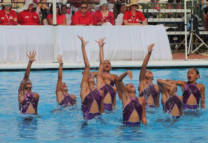 Equipos de nada sincronizado de Yucatán, que participaron en el Campeonato Nacional seria A, obtuvieron su boleto al nacional. (SIPSE)
