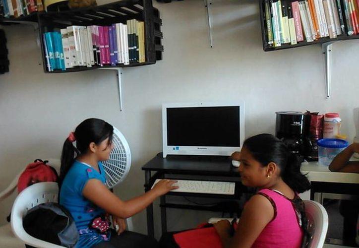 Los infantes de Paraíso Maya ya pueden hacer consultas. (Consuelo Javier/SIPSE)