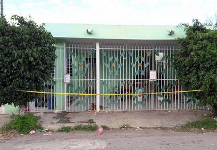 El homicidio ocurrió en una casa del fraccionamiento Vergel III, en el oriente de Mérida. (Milenio Novedades)