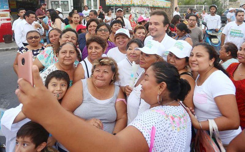 Pedro Joaquín ha dejado en claro que encabeza un proyecto de gobierno productivo. (Redacción/SIPSE)