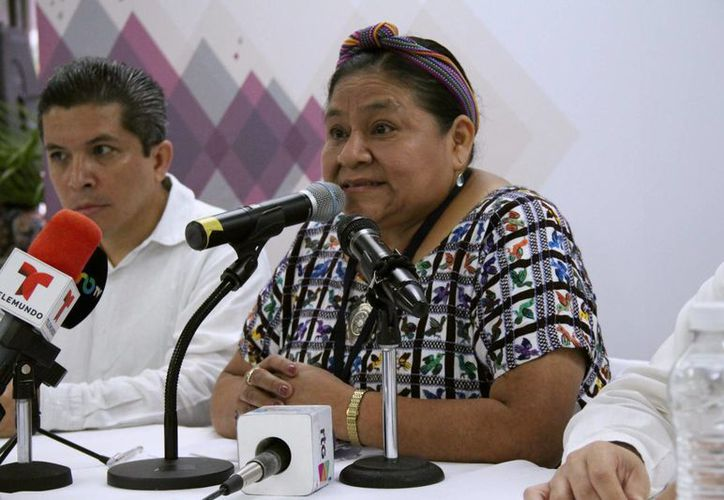 Rigoberta Menchú participará como observadora extranjera en las elecciones del 7 de junio. (EFE)
