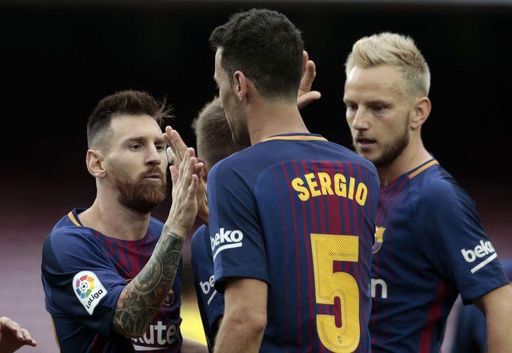 Los jugadores del FC Barcelona tampoco entrenarán este martes por el paro. (Foto: Vocero)