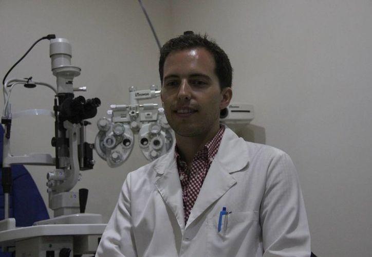 Los errores de refracción se controlan con el uso de anteojos. (Consuelo Javier/SIPSE)