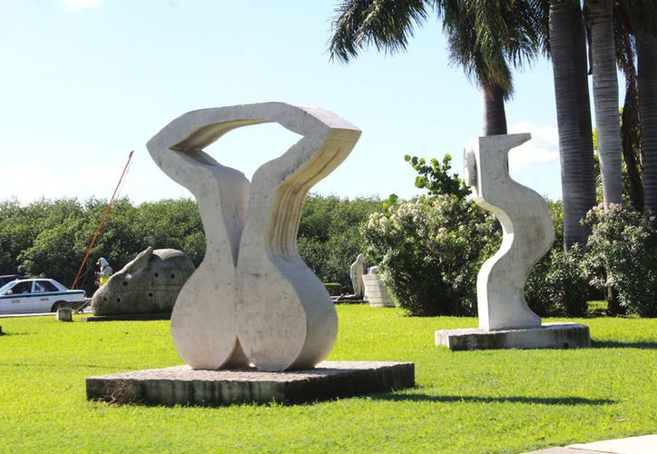 Durante el 2018, se sumarán 62 esculturas más a la colección del Musa. (Foto: Ivette Ycos/SIPSE)