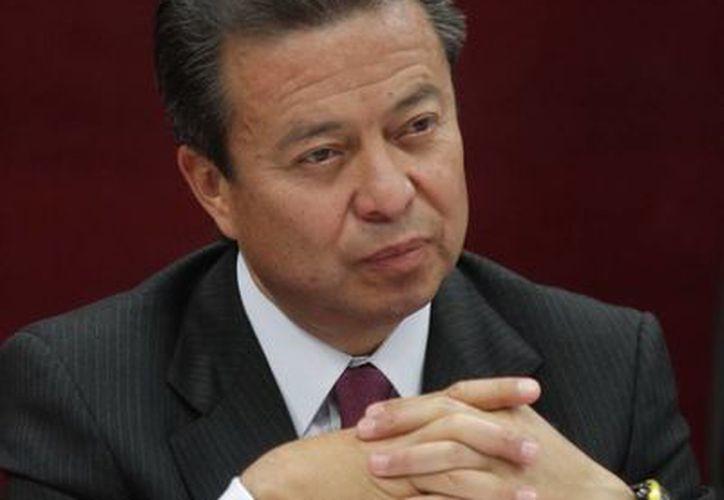 César Camacho se dijo a favor de la evaluación al magisterio. (Archivo/Notimex)