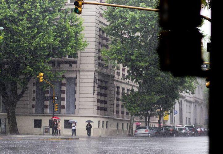 'El Niño' provoca condiciones húmedas en el sur del continente, como en Argentina, mientras que hacia el norte ocasiona condiciones  más secas. (EFE)