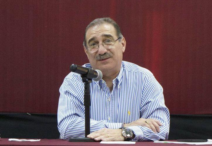 El Ministro Pérez Dayán dictó ayer una conferencia magistral. (Milenio Novedades)