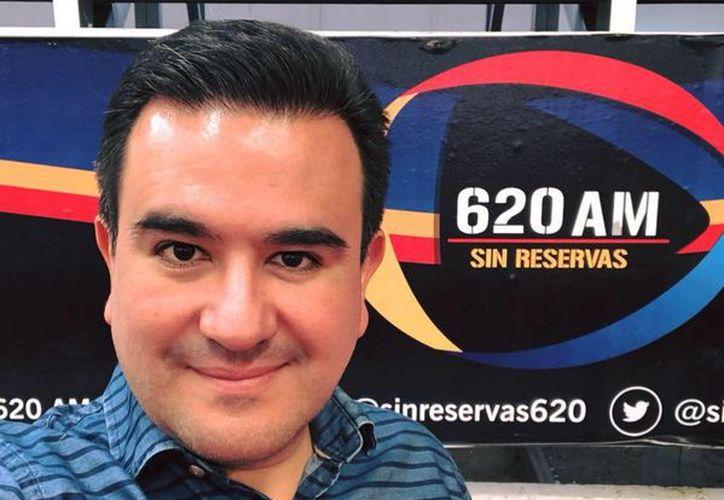 hasta el momento se desconocen las causas del asesinado del periodista  Juan Carlos Huerta. (Facebook)