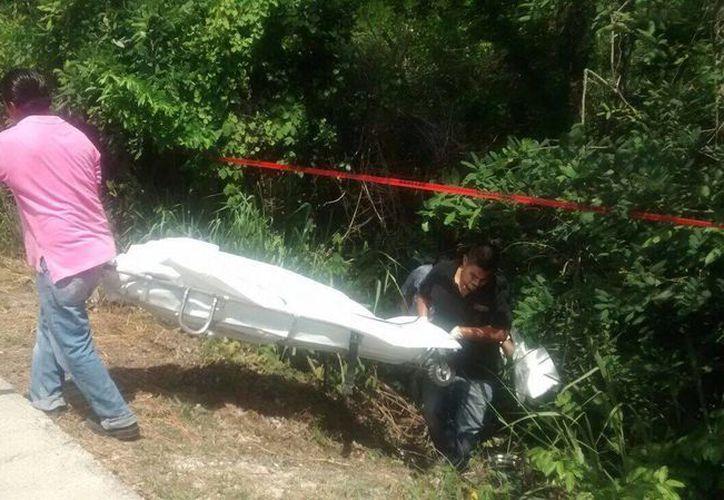El cuerpo fue hallado el pasado miércoles en un área verde en Puerto Morelos. (Redacción/SIPSE)