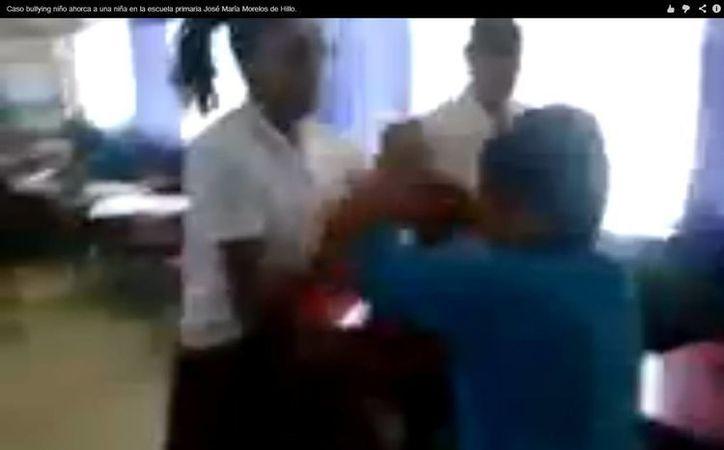 Autoridades educativas buscan frenar estas agresiones en las aulas. (Captura de pantalla)