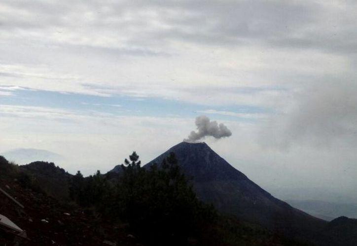 El volcán de Fuego (o de Colima) ha registrado actividad constante en los últimos 10 días. (Archivo/Notimex)