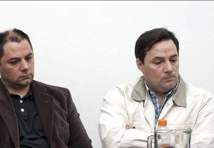 Los hermanos Martín y Cristián Lanatta están condenados por participar en el triple crimen de General Rodríguez en 2008. (www.lasintesis.com.ar)