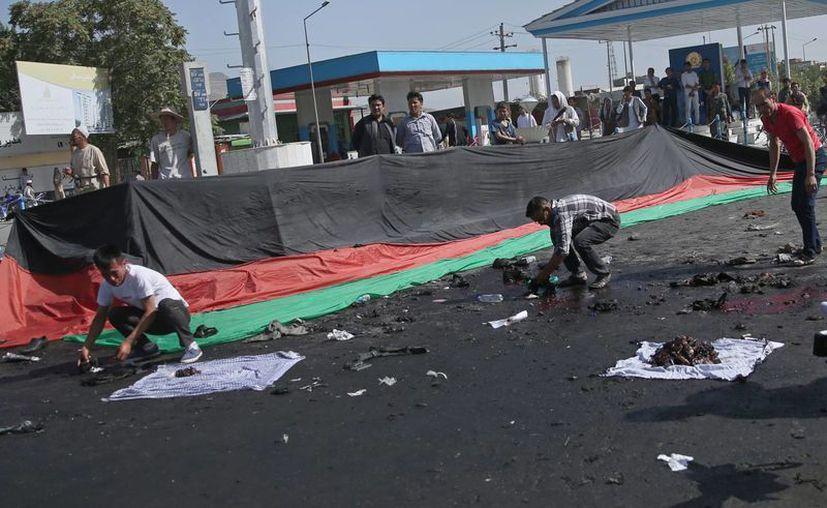 El Estado Islámico se apresuró a reivindicar el ataque de este sábado en Kabul contra la etnia hazara. (AP)