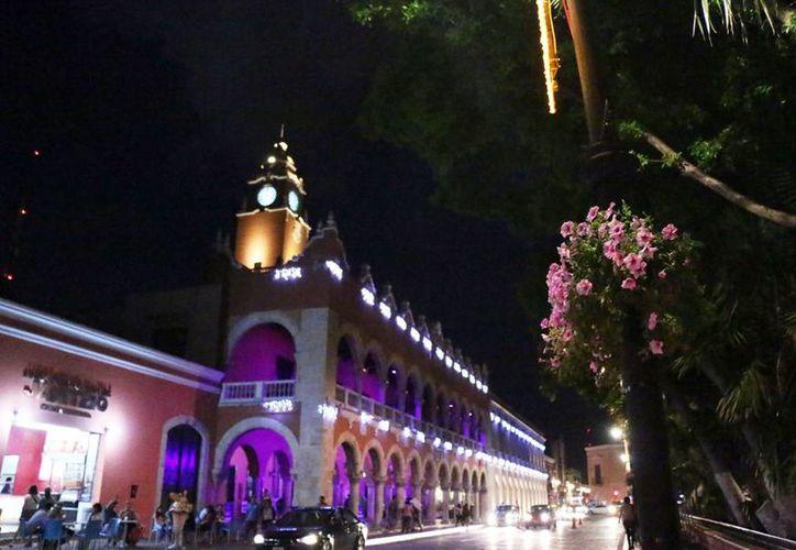La capital yucateca se alista para el 475 aniversario de su fundación, con espectáculo. (Milenio Novedades)