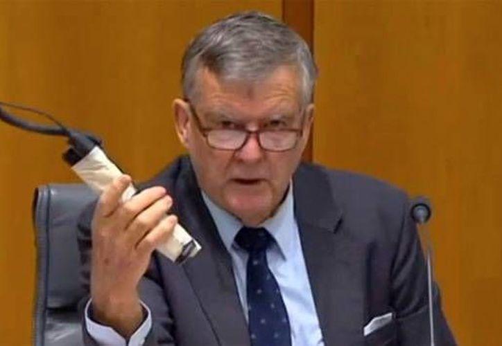 Heffernan lleva advirtiendo sobre la amenaza de la relajada seguridad impuesta por un periodo de 12 meses en el lugar. (YouTube)