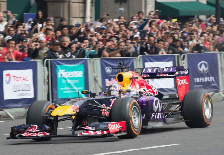 El Gran Premio de Fórmula Uno en México no tiene segura su continuidad. (Foto: Imagen tomada de Mexsport)