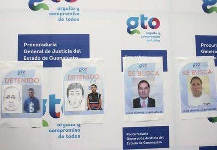 Las autoridades guanajuatenses divulgaron los retratos de los presuntos agresores de la reportera de El Heraldo de León, Karla Silva. (Milenio)