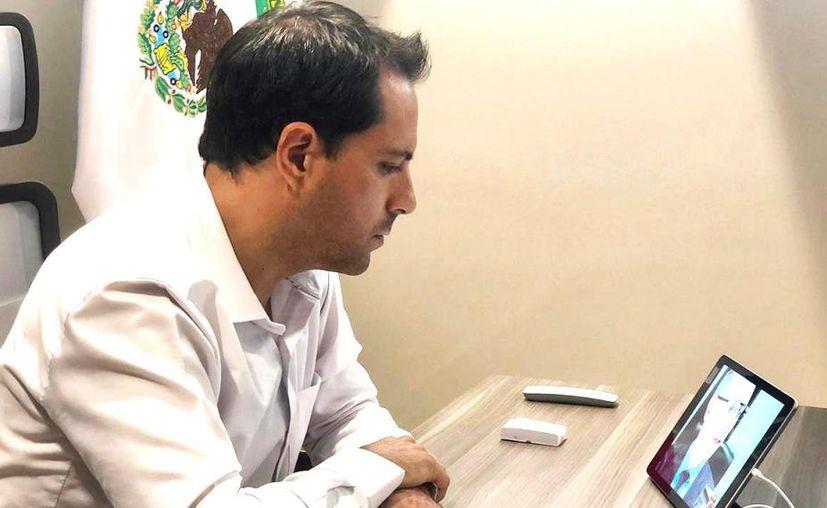 El gobernador Mauricio Vila Dosal insistió que en Yucatán es momento de quedarse en casa.