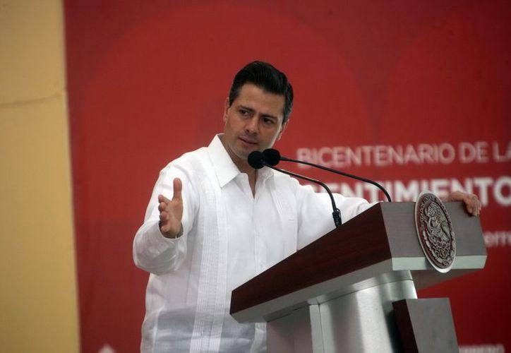 Peña Nieto agradeció al pueblo mexicano por confiar en él. (Archivo/Notimez)