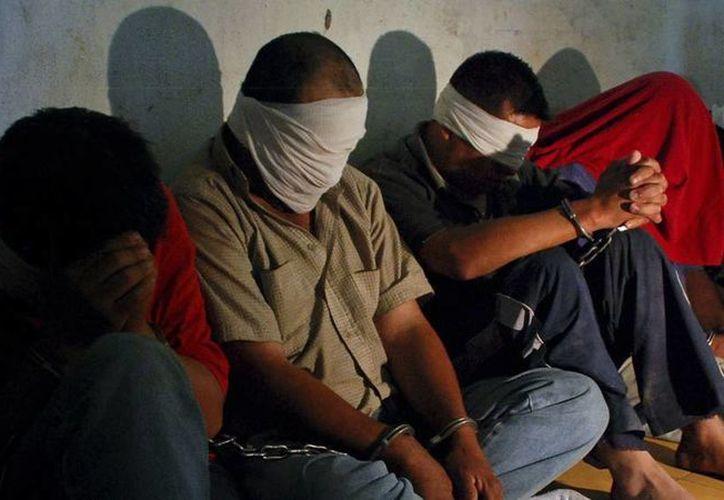 En enero de 2014, la cifra de secuestros aumentó poco más de 5 por ciento en comparación con diciembre de 2013, según el Sistema Nacional de Seguridad Pública. Imagen de contexto sobre el secuestro en México. (siete24.mx)