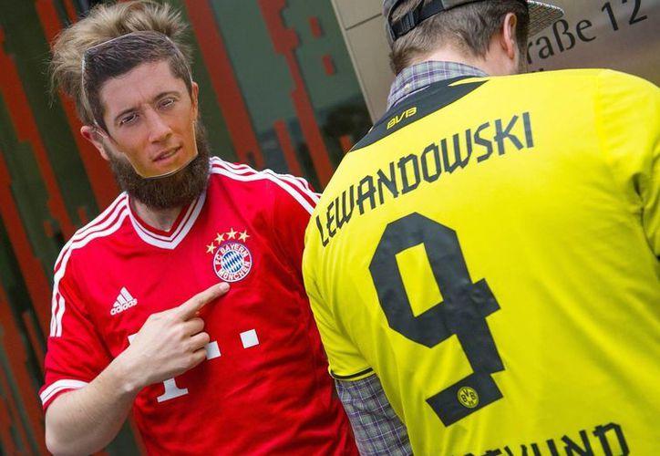 Lewandoski jugará 5 temporadas con el actual Campeón Mundial de Clubes. (Foto: EFE)
