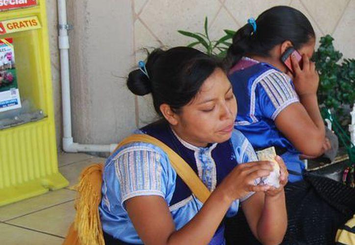 La mujer agredida y su sobrina denunciaron los diversos delito, ambas son originarias de Oaxaca. (Tomás Álvarez/SIPSE)