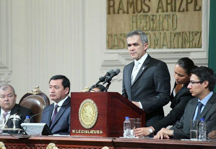 Mancera aseguró que su gobierno hace un manejo responsable de la deuda pública de la capital. (Notimex)