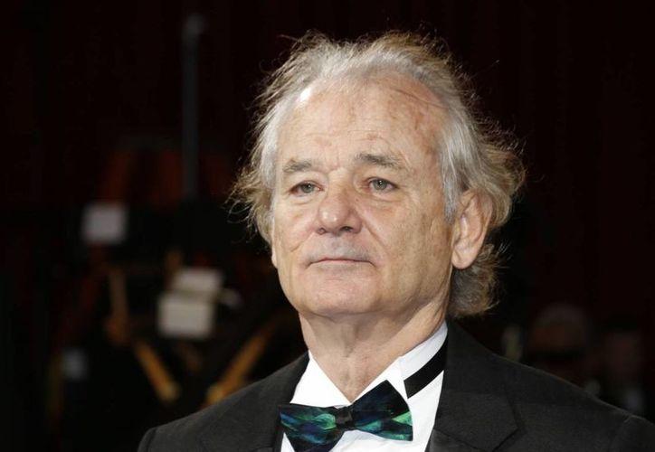 Bill Murray estará acompañado por David Letterman, Emma Stone y Sigourney Weaver cuando le entreguen el premio Mark Twain.  (media.salon.com)