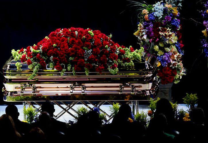 El funeral público de Michael Jackson se llevó a cabo en el Staples Center de Los Ángeles. (Foto: AP)