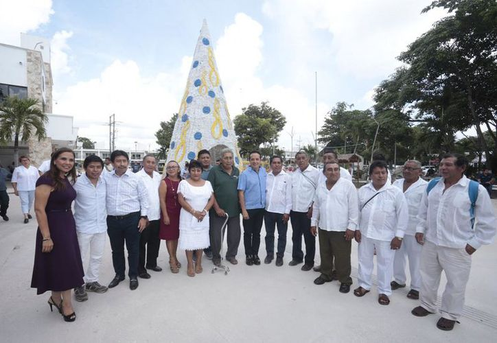 La presidente municipal de Benito Juárez participó en la reunión de trabajo en Tulum. (Cortesía)